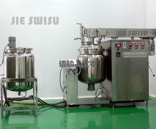 抽真空膏体乳化生产设备