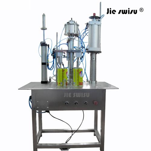 1600A半自动气雾剂灌装设备