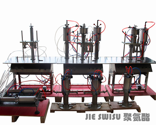 cjxh-1600C型聚氨酯填缝剂气雾剂灌装设备